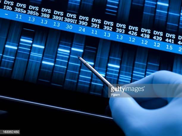 Ricerca genetica presso il laboratorio