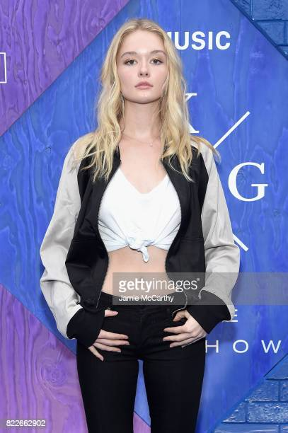 Geneva attends the Apple Music and KYGO 'Stole The Show' Documentary Film Premiere at The Metrograph on July 25 2017 in New York City