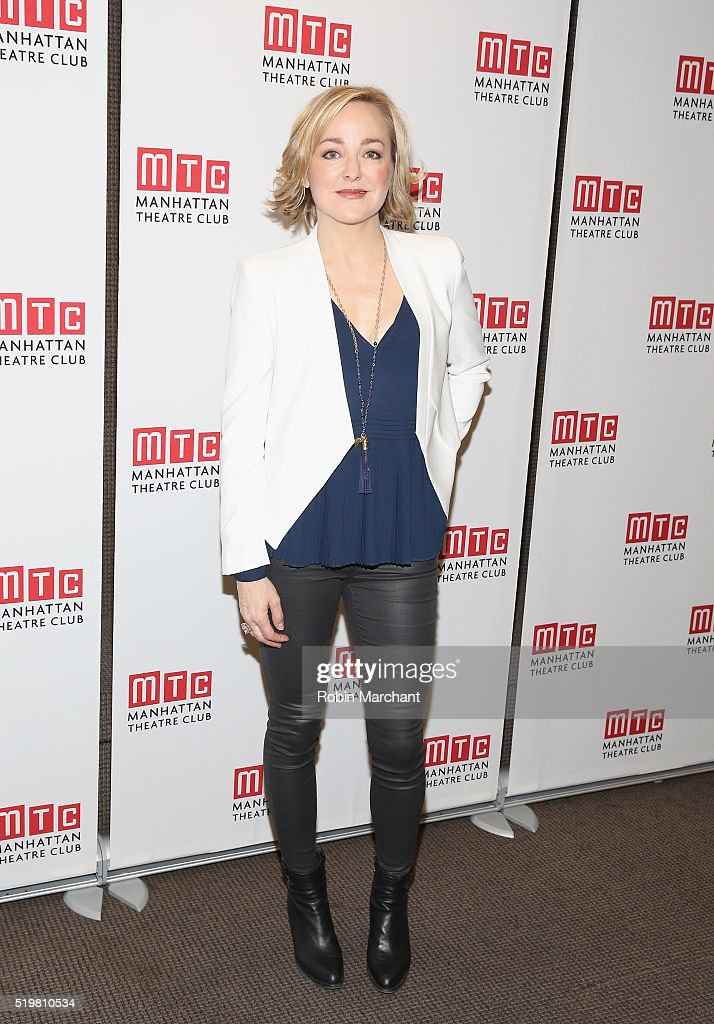 Geneva Carr attends 'Incognito' Cast Meet Greet at Manhattan Theatre Club Rehearsal Studios on April 8 2016 in New York City
