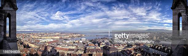 Geneva Panorama View