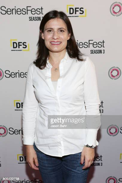 Geneva Wasserman arrives to the Women In Entertainment panel discussion for SeriesFest Season 3 at Sie FilmCenter on July 1 2017 in Denver Colorado
