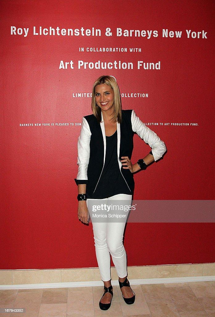 Genevieve Bahrenburg attends Roy Lichtenstein & Barneys New York Limited Edition Collection Launch Event at Barneys New York on May 2, 2013 in New York City.