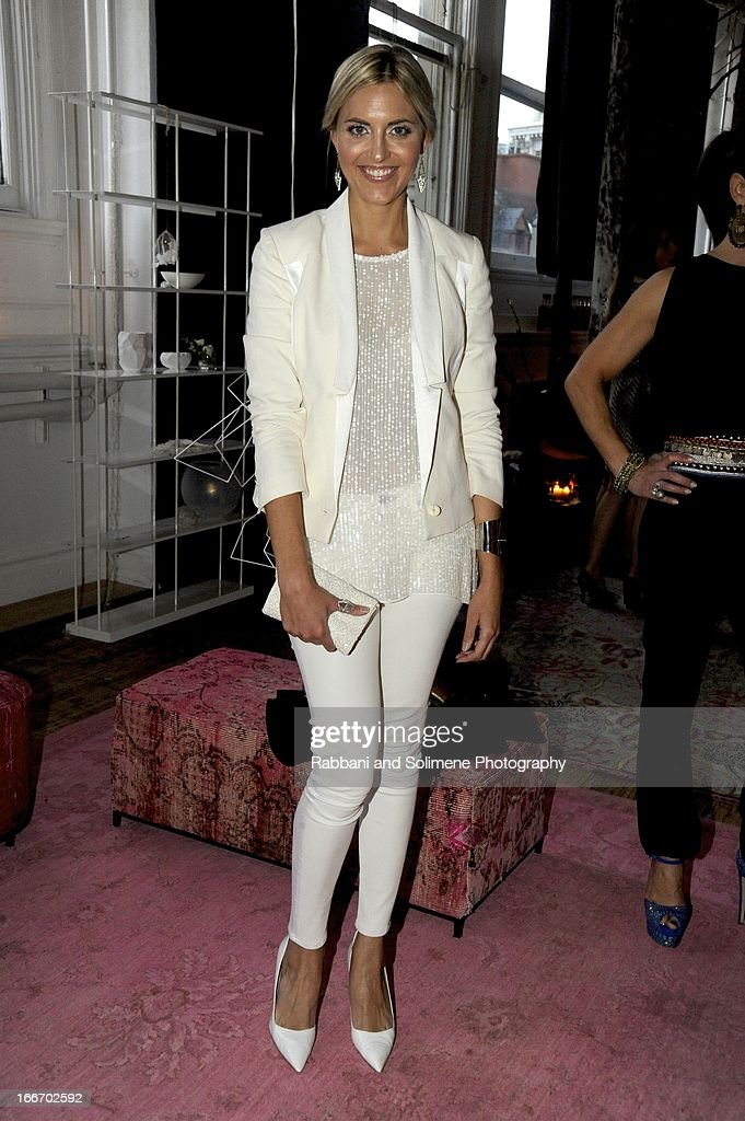Genevieve Bahrenburg attends the 2013 Art Production Fund Gala at ABC Home & Carpet on April 15, 2013 in New York City.