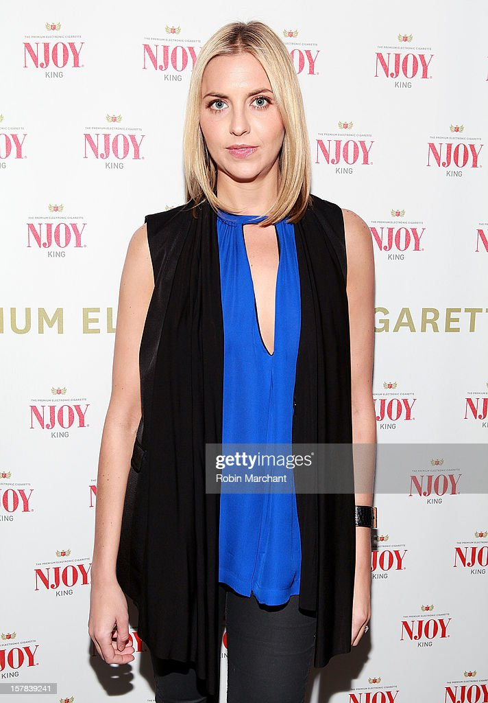 Genevieve Bahrenburg attends the NJOY King Electric Cigarette launch event at The Jane Hotel on December 6, 2012 in New York City.