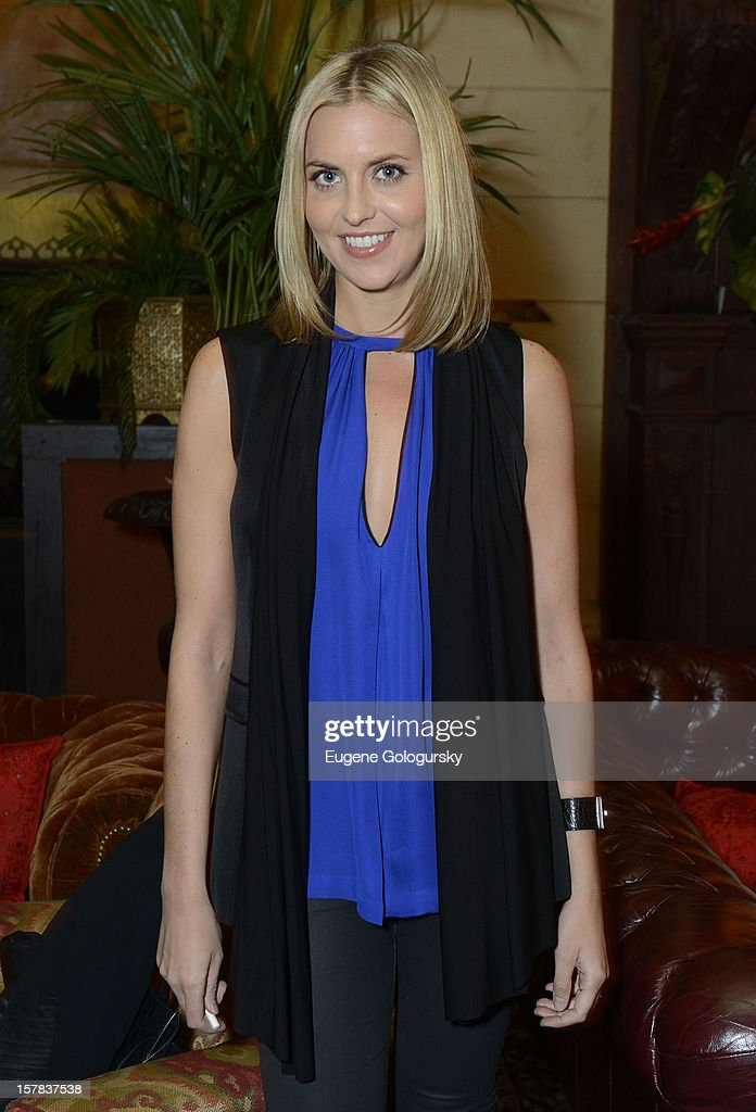 Genevieve Bahrenburg attends the NJOY King Launch at The Jane Hotel on December 6, 2012 in New York City.