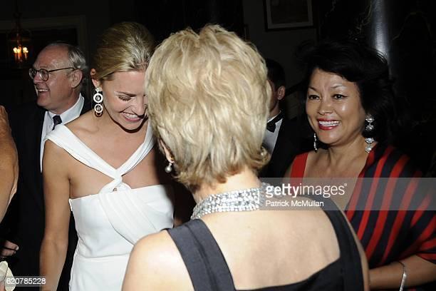 Genevieve Bartlett Bahrenburg Laurie Jones and Lolita Savage attend The Parents of GENEVIEVE BARTLETT BAHRENBURG and PHILIP EMILE GAUCHER JR Host The...