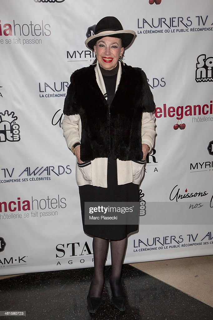 Lauriers TV Awards 2014 Ceremony - Red Carpet Arrivals At La Cigale