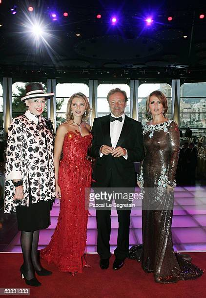 Genevieve De Fontenay Miss France 2002 Sylvie Tellier of France French TV Presenter Guillaume Durand and French Actress Natacha Amal arrive at the...