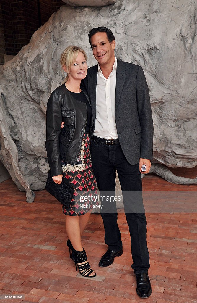 Genevieve Hoberman and Brent Hoberman attends the VIP opening of The Serpentine Sackler Gallery & Autumn Exhibitions at The Serpentine Sackler Gallery on September 25, 2013 in London, England.