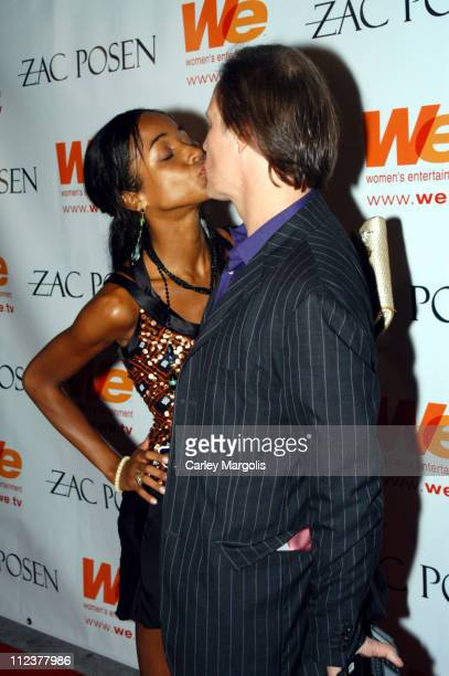 Genevieve Jones and Patrick McMullan during WE Women's Entertainment and Amy Sacco Host the AfterAfterParty for Zac Posen's Spring/Summer 2005 Show...