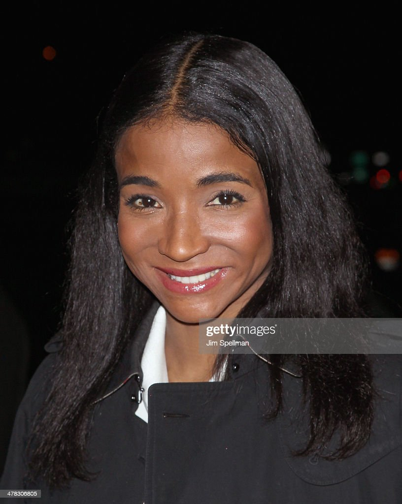 <a gi-track='captionPersonalityLinkClicked' href=/galleries/search?phrase=Genevieve+Jones&family=editorial&specificpeople=212813 ng-click='$event.stopPropagation()'>Genevieve Jones</a> attends Sony Pictures Classics' 'Only Lovers Left Alive' screening hosted by The Cinema Society and Stefano Tonchi, Editor in Chief of W Magazine at Landmark's Sunshine Cinema on March 12, 2014 in New York City.