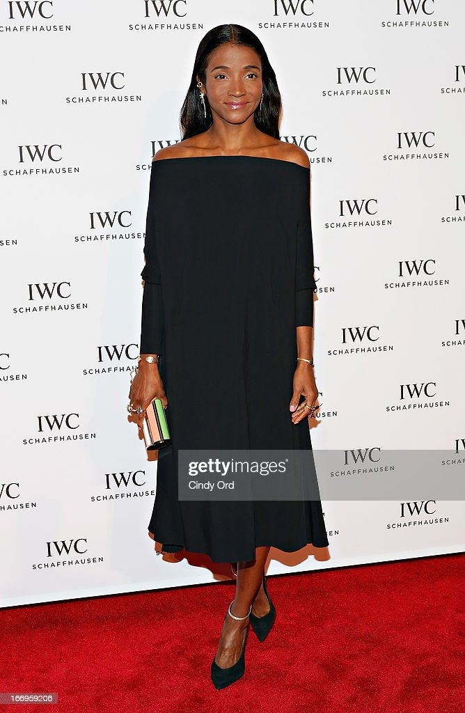 Genevieve Jones attends the IWC and Tribeca Film Festival 'For the Love of Cinema' celebration at Urban Zen on April 18, 2013 in New York City.