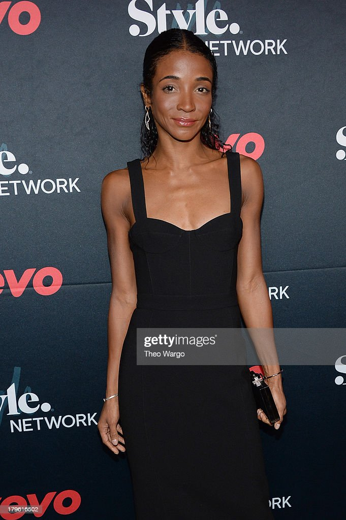 Genevieve Jones attends the VEVO and Styled To Rock Celebration Hosted by Actress, Model and Styled to Rock Mentor Erin Wasson with Performances by Bridget Kelly & Cazzette on September 5, 2013 in New York City.