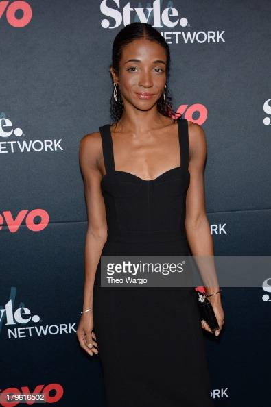 Genevieve Jones attends the VEVO and Styled To Rock Celebration Hosted by Actress Model and Styled to Rock Mentor Erin Wasson with Performances by...