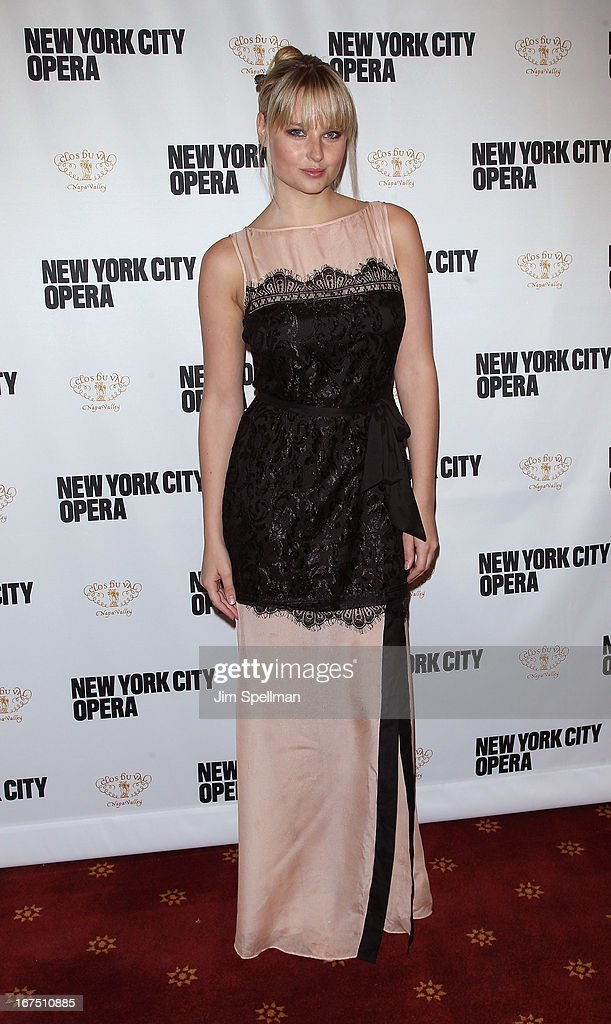 Genevieve Morton attends the 2013 New York City Opera Spring Gala at New York City Center on April 25, 2013 in New York City.