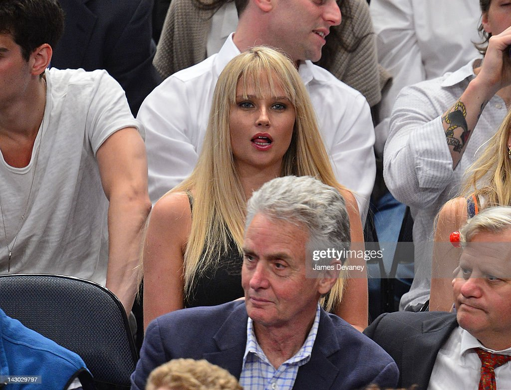 <a gi-track='captionPersonalityLinkClicked' href=/galleries/search?phrase=Genevieve+Morton&family=editorial&specificpeople=6583076 ng-click='$event.stopPropagation()'>Genevieve Morton</a> attends the New York Knicks vs Boston Celtics basketball game at Madison Square Garden on April 17, 2012 in New York City.