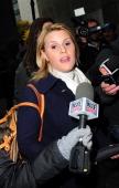 Genevieve Sabourin is seen at Manhattan Criminal Court on November 12 2013 in New York City Alec Baldwin is testifying against alleged stalker...