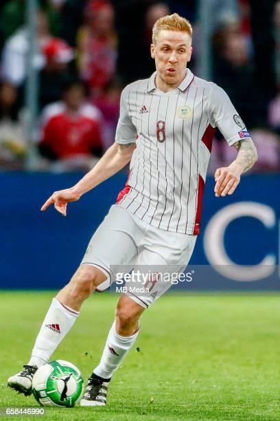 Genf Fussball WM Quali Schweiz Lettland 'Artis Lazdins '
