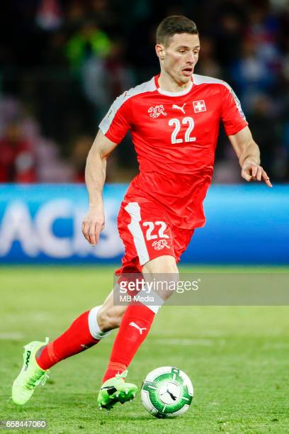 Genf Fussball WM Quali Schweiz Lettland 'Fabian Schaer '