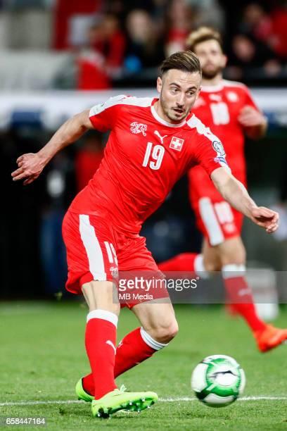 Genf Fussball WM Quali Schweiz Lettland 'Josip Drmic '