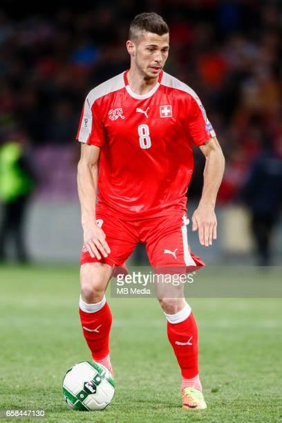 Genf Fussball WM Quali Schweiz Lettland 'Remo Freuler '