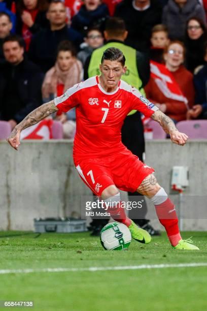 Genf Fussball WM Quali Schweiz Lettland 'Steven Zuber '