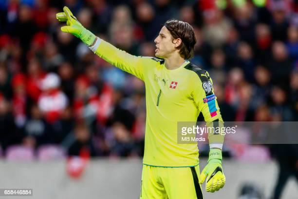 Genf Fussball WM Quali Schweiz Lettland 'Torhueter Yann Sommer '