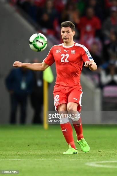 Genf Fussball WM Quali Schweiz Lettland'Fabian Schaer '