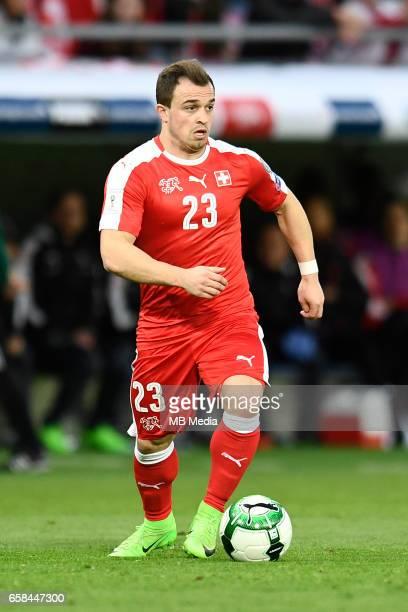Genf Fussball WM Quali Schweiz Lettland'Xherdan Shaqiri '