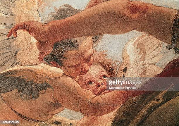 Genius on Pegasus Putting Time to Flight by Giambattista Tiepolo 1747 1750 18th Century fresco