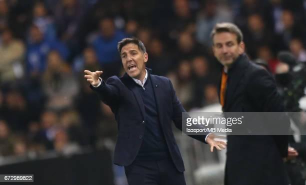 Krc Genk vs Rc Celta de Vigo / 'nEduardo BERIZZO MAGNOLO'nFootball Uefa Europa League 2016 2017 QuarterFinal 2nd leg Luminus Arena /'n© Vincent Van...