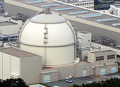 Genkai Japan Photo taken in June 2011 from a Kyodo News helicopter shows the No 4 reactor at the Genkai nuclear power plant in the town of Genkai...