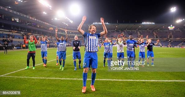 FBL-EUR-C3-GENK-GENT : News Photo