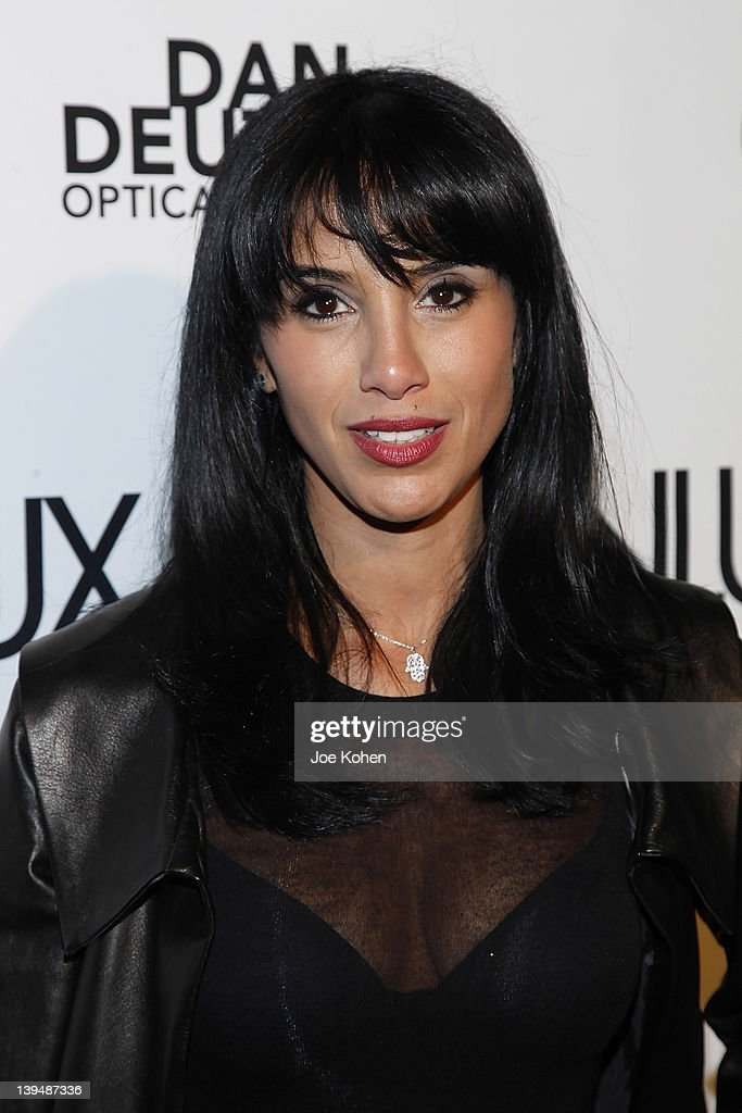 Genlux Editor in Chief Samia Arslane attends the Night Of 'BB Forever: Brigitte Bardot, The Legend' at Sofitel Hotel on February 21, 2012 in Los Angeles, California.