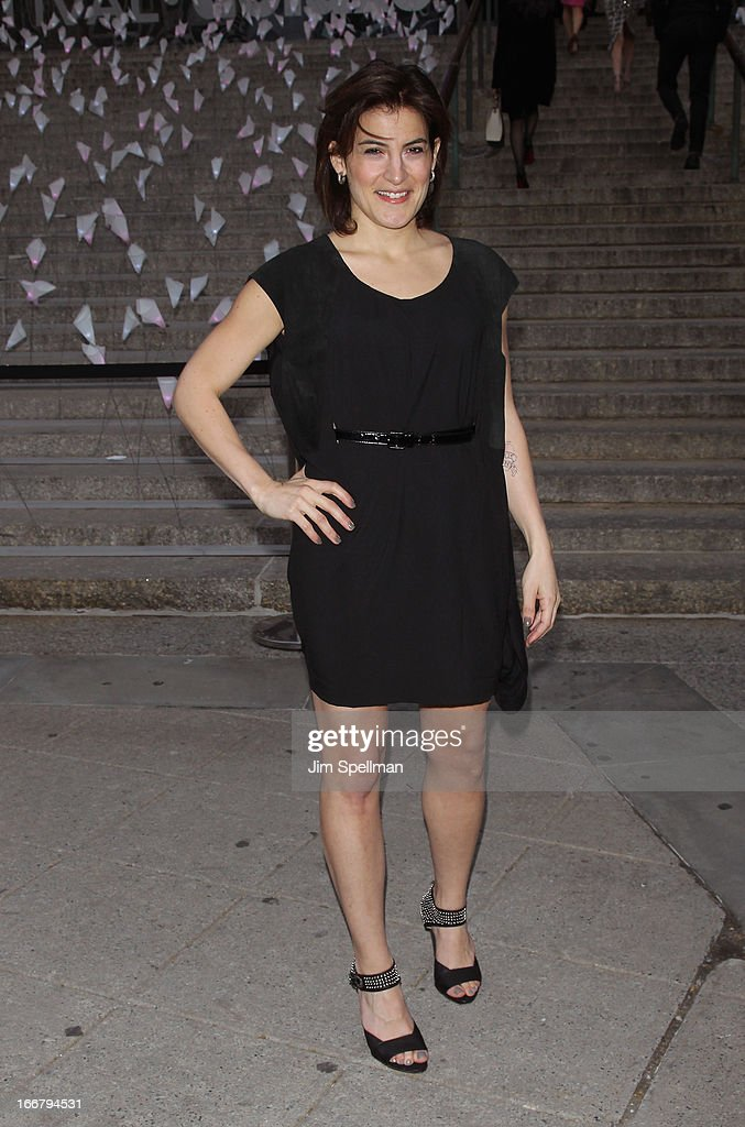 Genna Terranova attends the Vanity Fair Party during the 2013 Tribeca Film Festival at the State Supreme Courthouse on April 16, 2013 in New York City.