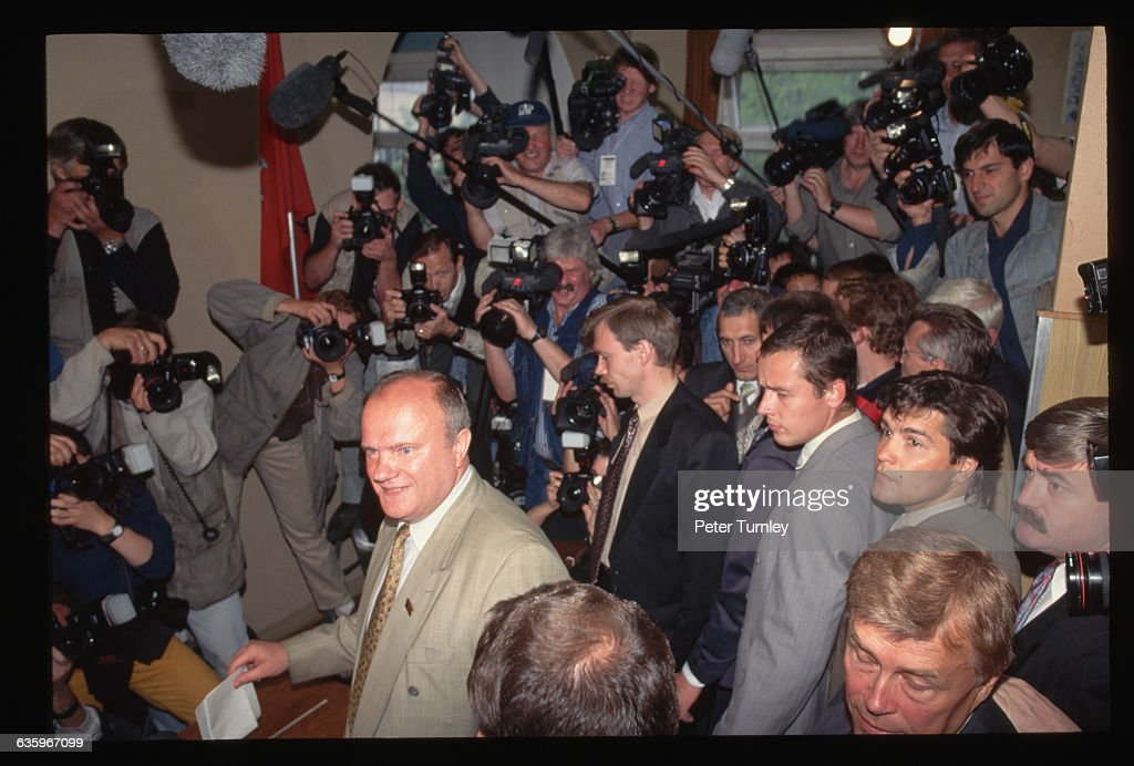 <a gi-track='captionPersonalityLinkClicked' href=/galleries/search?phrase=Gennady+Zyuganov&family=editorial&specificpeople=213936 ng-click='$event.stopPropagation()'>Gennady Zyuganov</a>, a member of the Communist Party who had challenged President Boris Yeltsin in the presidential elections of 1996, voting on Election Day in Moscow.
