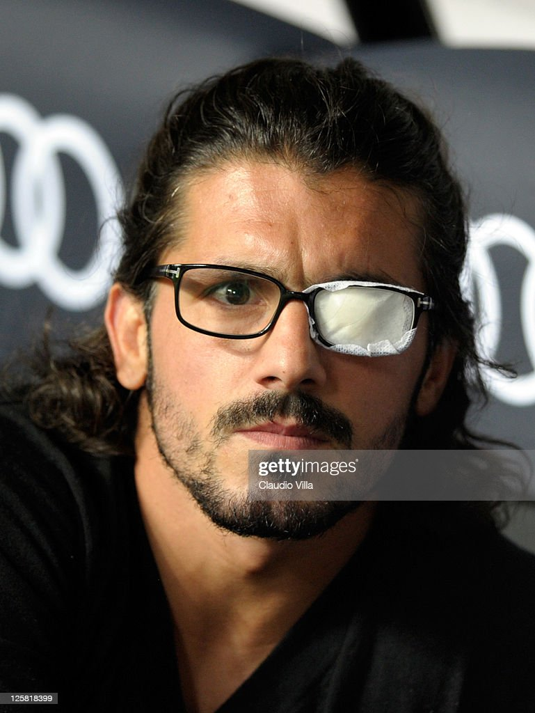 Gennaro Gattuso of AC Milan looks on during the Serie A match between AC Milan and Udinese Calcio at Stadio Giuseppe Meazza on September 21, 2011 in Milan, Italy.