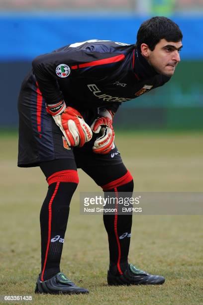 Genoa goalkeeper Rubens Rubinho