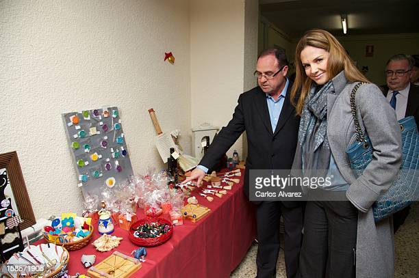 Genoveva Casanova attends 'III Mercadillo Solidario de San Juan de Dios' at Albergue San Juan de Dios on December 19 2012 in Madrid Spain