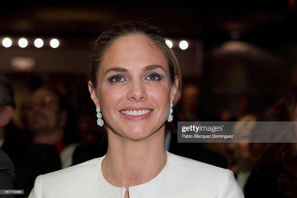 Genoveva Casanova attends 'Orange And Lemon' Awards ceremony at Sheraton Mirasierra Hotel on April 29, 2013 in Madrid, Spain.