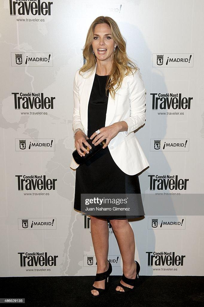 Genoveva Casanova attends the Conde Nast Traveler Awards 2014 at the Jardines de Cecilio Rodriguez on April 24, 2014 in Madrid, Spain.
