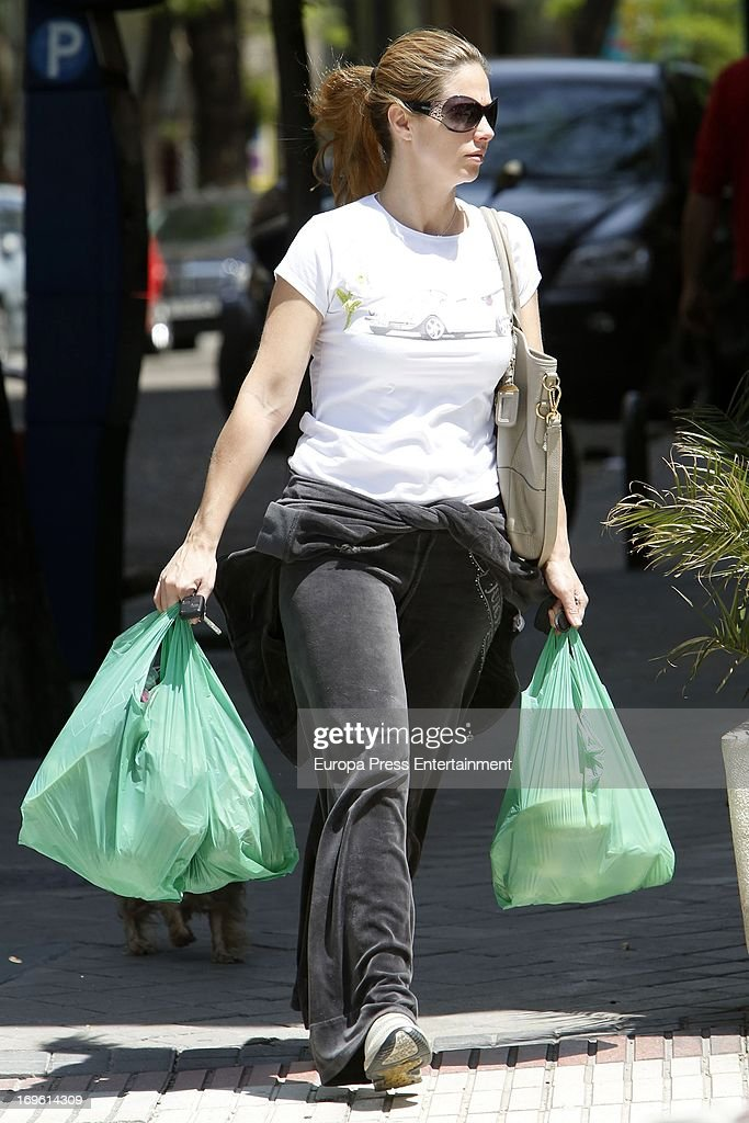 Genoveva Casanova is seen on May 28, 2013 in Madrid, Spain.
