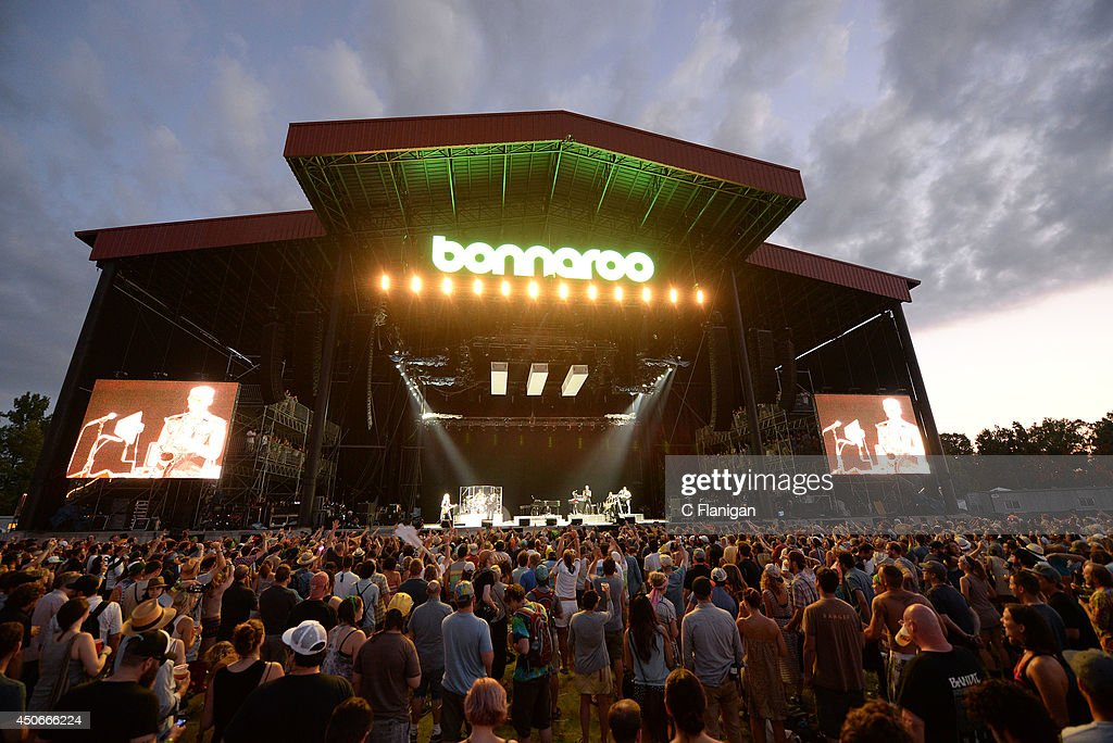 A genreral view during the 2014 Bonnaroo Music & Arts Festival on June 14, 2014 in Manchester, Tennessee.