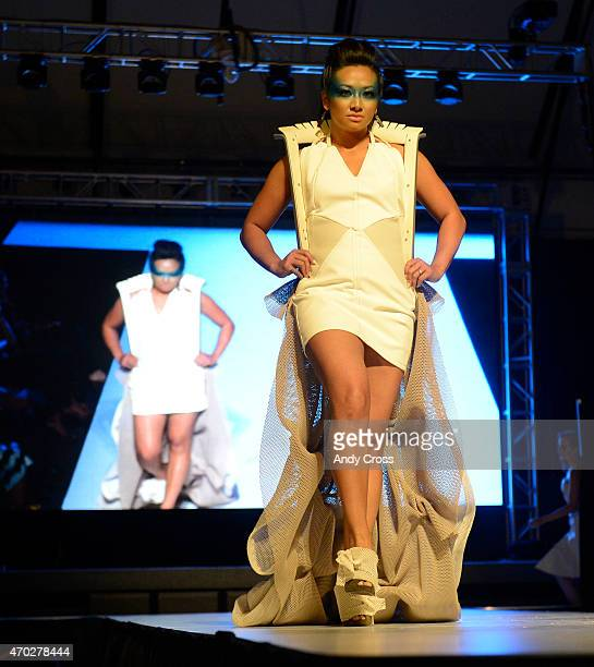 Gensler/Officescapes/Steelcase entry for the 2015 PretaPorter fashion show Future Undefined hosted by the International Interior Design Association...