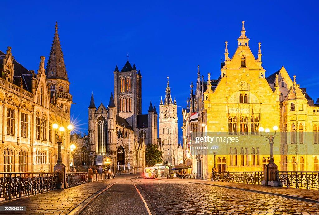 Gent, Belgium : Stock Photo