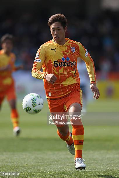 Genta Miura of Shimizu SPulse in action during the JLeague second division match between Shimizu SPulse and Matsumoto Yamaga at the IAI Stadium...