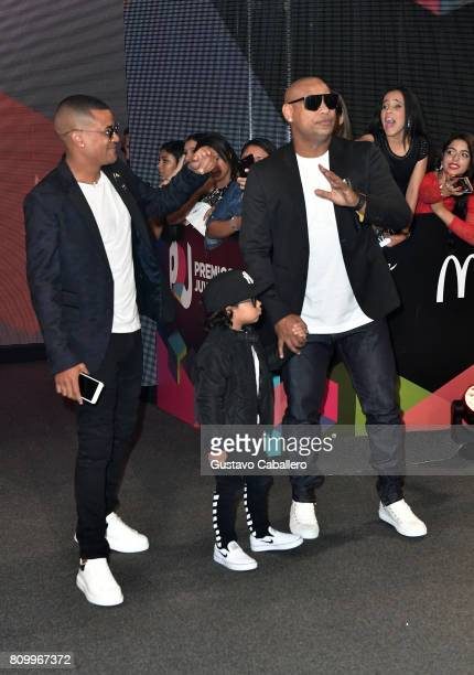 Gente De Zona attends the Univision's 'Premios Juventud' 2017 Celebrates The Hottest Musical Artists And Young Latinos ChangeMakers at Watsco Center...