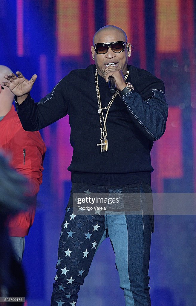 Gente de Zona performs onstage at the Billboard Latin Music Awards at Bank United Center on April 28, 2016 in Miami, Florida.