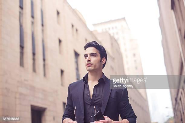 Gentleman in the city