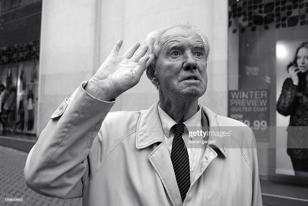 CONTENT] Gentleman stops and salutes in the street. Birmingham. War Veteran. Remembering the fallen.